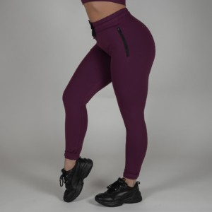 Fitted Joggers – Dark Orchid