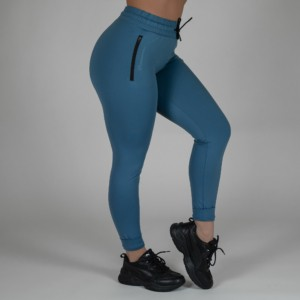 Fitted Joggers – Quetzal Blue